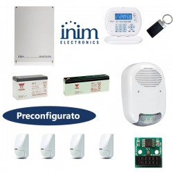 Kit allarme casa INIM 515 JOYGR già programmato con infrarosso