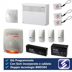 Kit allarme bentel norma8z con gsm e sensori bmd504 gi for Bentel norma 8