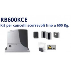Kit motore cancello scorrevole NICE RB600KCE fino a 600kg
