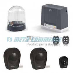 Kit automazione cancello scorrevole 400kg Neos 400 Ditec Entrematic DIT400NESL