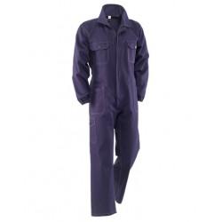 Tuta da lavoro blu massaua 100% cotone meccanico officina carrozzeria operai