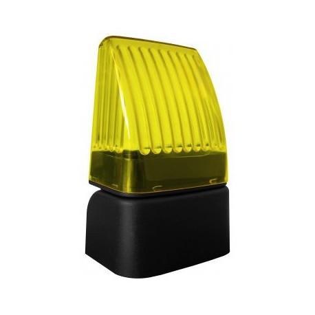 SNODO LED FULL Nologo lampaggiante led universale per cancello 12/24v 230v snodabile