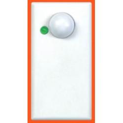 Sensore allarme doppia tecnologia da incasso in frutto interruttore 1 posto portata 6 mt