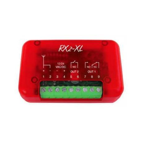 RX2-XL Nologo ricevente universale bicanale 433mhz per cancelli e serrande