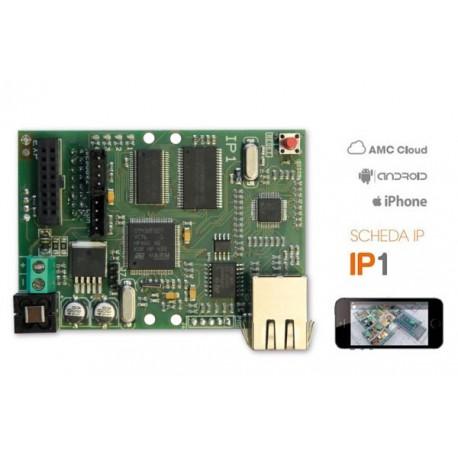 IP1 AMC Scheda LAN IP per centrali serie X
