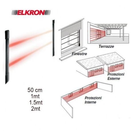 EL 20RT Elkron barriere perimetrali infrarossi allarme per porte e finestre