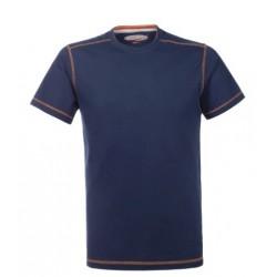 Maglietta T-SHIRT da lavoro LAZY Lancelot manica corta blu