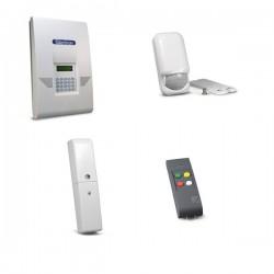 Kit allarme wireless Silentron 5625T silenya HT GSM 5500 sensore finestra telecomando e sensore PIR