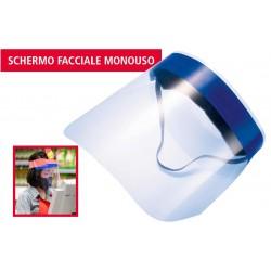 Visiera protettiva schermo facciale viso monouso