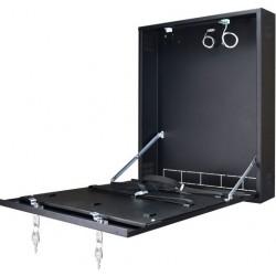 Contenitore metallico da parete per Dvr Videoregistratore con serratura e antiapertura