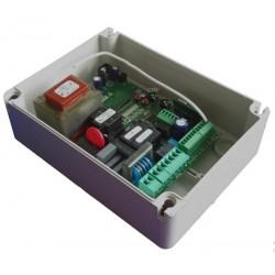 LRS2271 Seav centrale elettronica per motore cancello scorrevole o ad anta o basculanti con ricevente