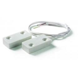 Contatto magnetico ultrapiatto in plastica per montaggio a vista