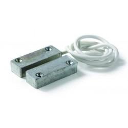 Contatto magnetico rettangolare in metallo montaggio a vista