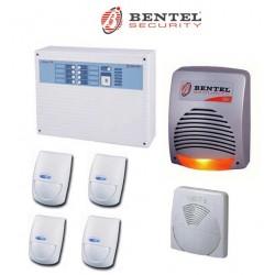 Kit allarme Bentel NORMA4T completo con BMD501 sirena CALLPI WAVE W