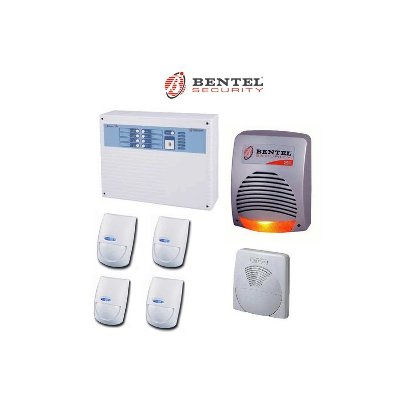 Kit bentel norma8t con sensori infrarosso bmd501 sirena for Bentel norma 8