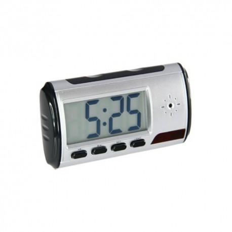 Registratore audio e video mimetizzati all'interno di una sveglia.