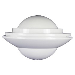 Telecamera stile Ufo da incasso a soffitto