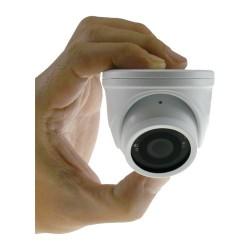 Telecamera minidome in miniatura antivandalo 600 tvl